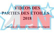 Vidéos des parties des étoiles 2018