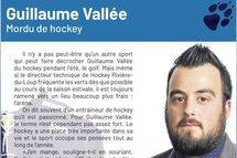 Guillaume Vallée, mordu de hockey