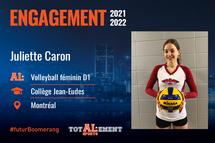 Juliette Caron - Crédit photo - Courtoisie de l'athlète