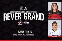 Webinaire sur le hockey féminin de la LNH et de l'AJLNH