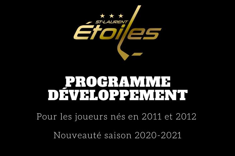 Nouveauté programme développement 2011-2012