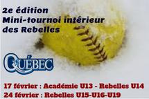 2e édition du mini-tournoi intérieur des Rebelles ; Les équipes sont maintenant connues !