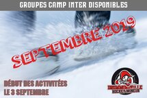 2019-20 GROUPES CAMP INTER DISPONIBLES