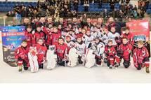 Félicitations! 2017-18 Champions Saison et Champions & Finalistes Régionaux Laval Novice A Laval-Est Voisins & Titans