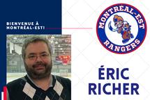 Éric Richer rejoint Domenic Bertoldi derrière le banc des Rangers