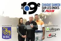 Une visite du Club de golf Pinegrove à l'émission Au 19e sur les ondes de RDS