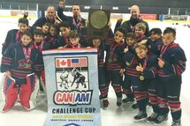Atome AA Citadelles champions du tournoi Canam de Pierrefonds
