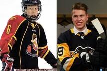 Samuel Poulin et les leçons de vie du hockey mineur
