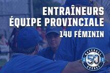 Le groupe d'entraîneurs pour l'équipe du Québec 14U féminin est connu