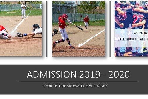 Admission 2019 - 2020