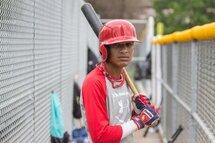 Victor Mesa fils, qui n'a que 15 ans, est l'un des espoirs cubains qu'on pourrait voir dans les ligues majeures un jour (Photo: Agence QMI, Dario Ayala)
