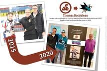 Thomas Bordeleau - 2015 à 2020
