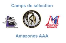 Camp de sélection - Amazones AAA