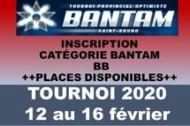 Dernière chance Inscription Bantam BB