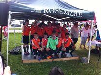 U10M-A Silver medal winners in Rosemere