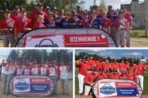 Sherbrooke était en mode baseball avec les championnats provinciaux B!