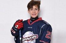 Loic Goyette joueur Méritant du mois de février Le Trio Hockey de la LHEQ!