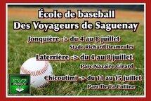 École de baseball des Voyageurs de Saguenay