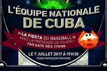 L'équipe nationale de Cuba à Granby le 7 juillet