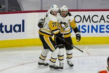 Evgeni Malkin et Sidney Crosby (Getty)