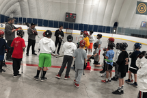 Holiday fun was had by all at the recent clinic at Club Dome