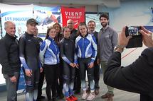 La FPVQ affiche désormais le logo de Sport'Aide sur l'uniforme de l'Équipe du Québec.