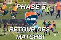 PHASE 5 - RETOUR DES MATCHS!!
