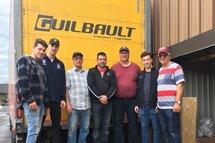 Merci à Transport Guilbault !