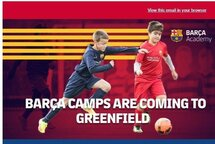 Summer camp with FC Barça Academy in Longueuil