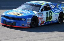 Alex Tagliani rebounded in the second sprint of the Velocity Prairie Thunder Twin 100s held Wednesday evening at the 0.333-mile Wyant Group Raceway oval track in Saskatoon with a ninth place finish after suffering terminal damage in the first race.
