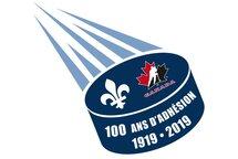 Le hockey québécois célèbre ses 100 ans d'adhésion à Hockey Canada