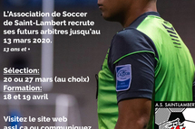 Informations Recrutement ARBITRES 2020