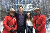 David La Rue et Juliette Brindamour étaient présents pour recevoir leur bourse lors de l'événement Érabl'Hier de demain avec LTD de la Fondation de l'athlète d'excellence du Québec.