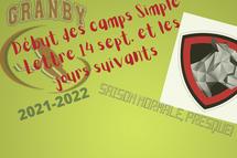 DÉBUT DES CAMPS SIMPLE LETTRE