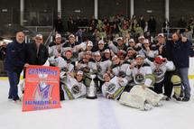 Les Pionniers Junior B gagnants de la Coupe Montréal