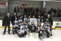 Jaguars Pee-Wee C Champions