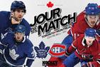 Jour de match | Le premier de trois matchs face aux Maple Leafs cette semaine
