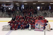 Bantam AA Royal Ouest - Champions Coupe Montréal!
