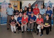 Les représentants du baseball mineur de Laval