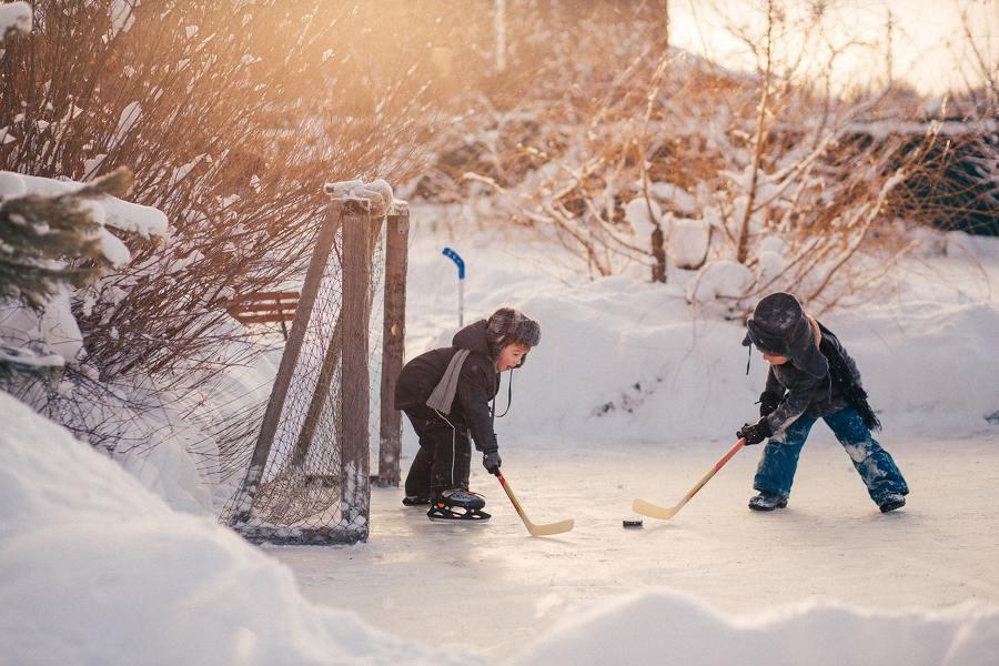 Semaine de relâche: 8 idées d'activités ayant pour thème le hockey