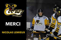 Merci! Nicolas Lemieux!