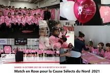 Match en Rose pour la Cause Sélects du Nord -16 Octobre  2021