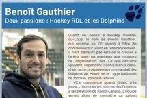 Benoit Gauthier Deux passions: Hockey RDL et les Dolphins