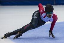 François Hamelin lors des Sélections olympiques en août 2017. — Photo Claude Rochon