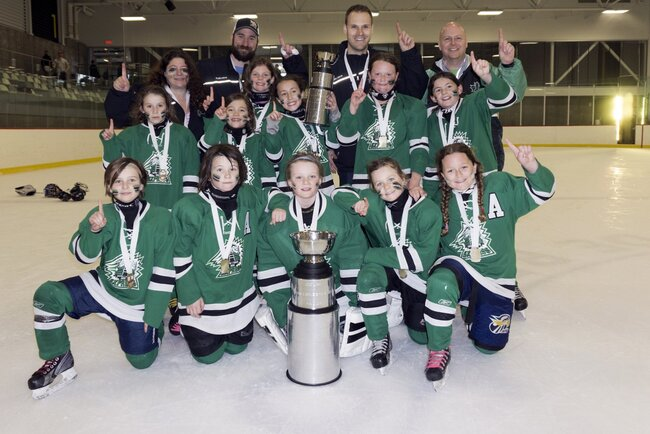Express Outaouais U8 AAA championne à la coupe challenge de Québec