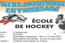 L'inscription au camp de mise en forme se fait sur le site du hockey mineur comme pour la saison régulière et ce au plus tard le dimanche 13 septembre.
