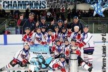 Félicitations à l'équipe du Drakkar de Varennes Novice B