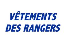 Procurez-vous des vêtements des Rangers