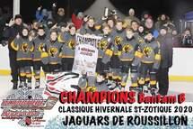 Jaguars Bantam B Champions