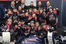 Félicitations au Panthères Atome AA champions de saison